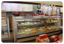 Town and Country Cheese Shoppe in St. Marys, Ontario has more than 90 local, domestic and international cheeses, there is a cheese for everyone. Sample local cheeses from Stonetown Cheese, Gunn's Hill, Gordan's Goat Cheese or C'Est Bonne.