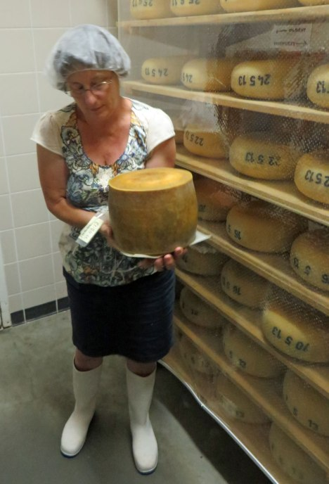 It was an honour and delight to spend time with cheesemaker Debra Amrein-Boyes (above) and her daughter, Amanda Vanderlinde, the next generation in cheesemaking at The Farm House Natural Cheeses.