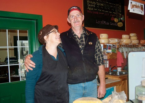 Kathy and Gary Wikkerink are pleased to be able to sell cheese again after the Canadian Food Inspection Agency lifted the prohibition on their Gort's Gouda Cheese Farm.