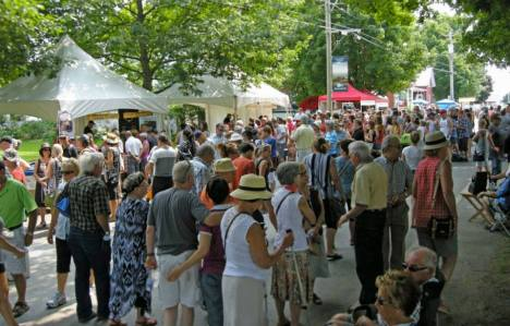 Some 10,000 cheese enthusiasts made the pilgrimage to Sainte-Elisabeth-de-Warwick.