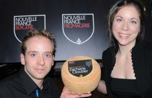 Jean-Paul and Marie-Chantal Houde, the brother and sister behind award-winning Fromagerie Nouvelle France.