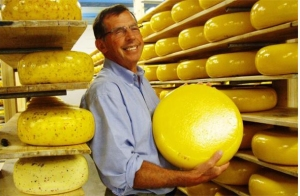 Jan Schalkwijk of Sylvan Star Cheese was set to sweep all gouda categories until . . .