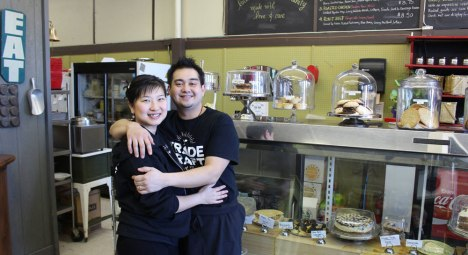 Jeff and Rayling Camacho, owners of Burger Revolution in Belleville and Trade Craft Good Food in nearby Brighton.