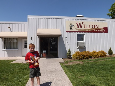 Cheese curds: Never leave the WIlton Cheese Factory without them.