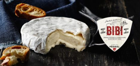 Bibi, made by Fromagerie Domaine Féodale in Berthierville, Québec.